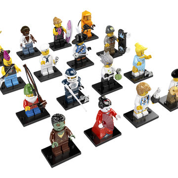 NEW LEGO COLLECTABLES Minifigure SERIES 7 VIKING WOMAN with WEAPONS