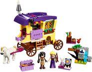 41157 Rapunzel's Travelling Caravan 2
