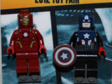 New York Toy Fair Exclusive Captain America and Iron Man