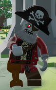 LEGO Worlds Zombie Pirate