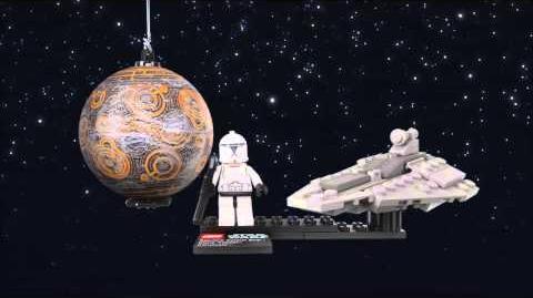 LEGO Star Wars 75007 Republic Assault Ship und Coruscant