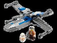 75297 X-wing de la Résistance