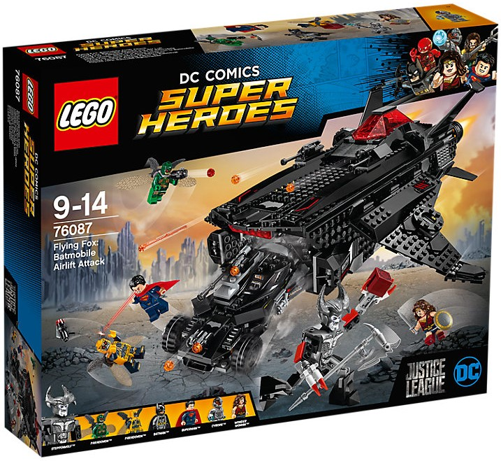 76087 Flying Fox: Batmobile Airlift Attack