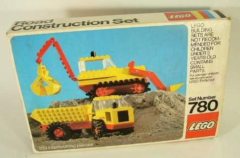 780 Road Construction Set
