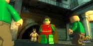Batman and Robin vs. Riddler Goons