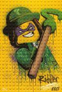 The LEGO Batman Movie Poster graffiti The Sphinx