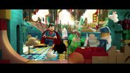 The LEGO Movie BA-Superman Green Lantern