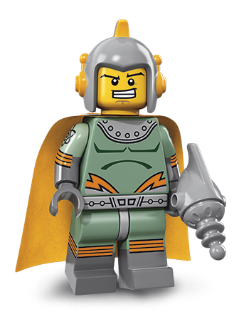 #2 CIRCUS STRONG MAN Minifigure - Bagged 71018 Lego Minifigures Series 17