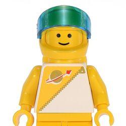 Yellow Futuron Astronaut