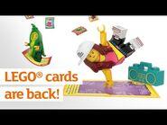 LEGO® cards are back - Sainsbury's