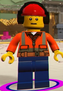 TLM2VG Construction Worker with headphones
