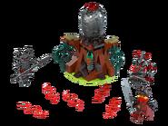 70621 L'attaque des guerriers Vermillion
