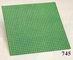 745 Big Baseplate Green