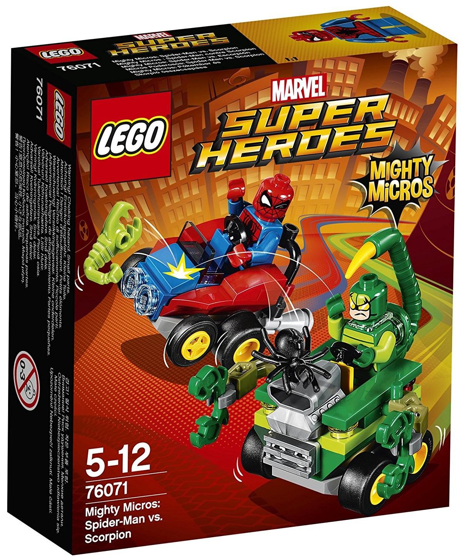 76071 Mighty Micros: Spider-Man vs. Scorpion