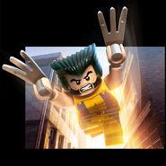 LEGO Marvel Super Heroes Render Wolverine
