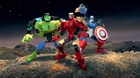 Marvel ultrabuilds ad