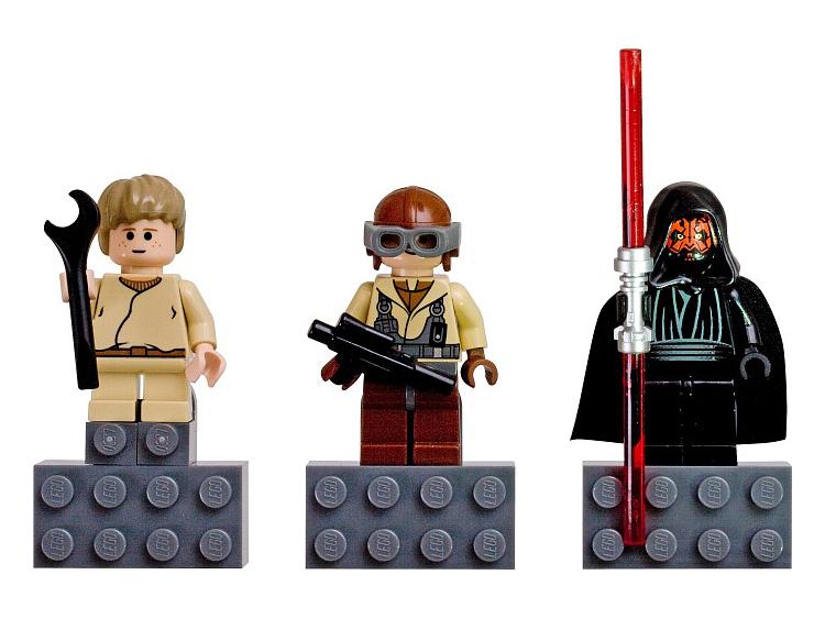 852551 Ensemble d'aimants Star Wars