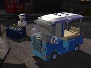 Milkman's van
