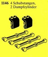 1146 4 Pushrods, 2 Cylinder Housings