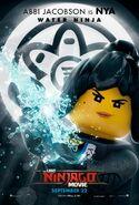 Nya character poster