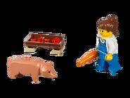 7684 La porcherie et le tracteur 4