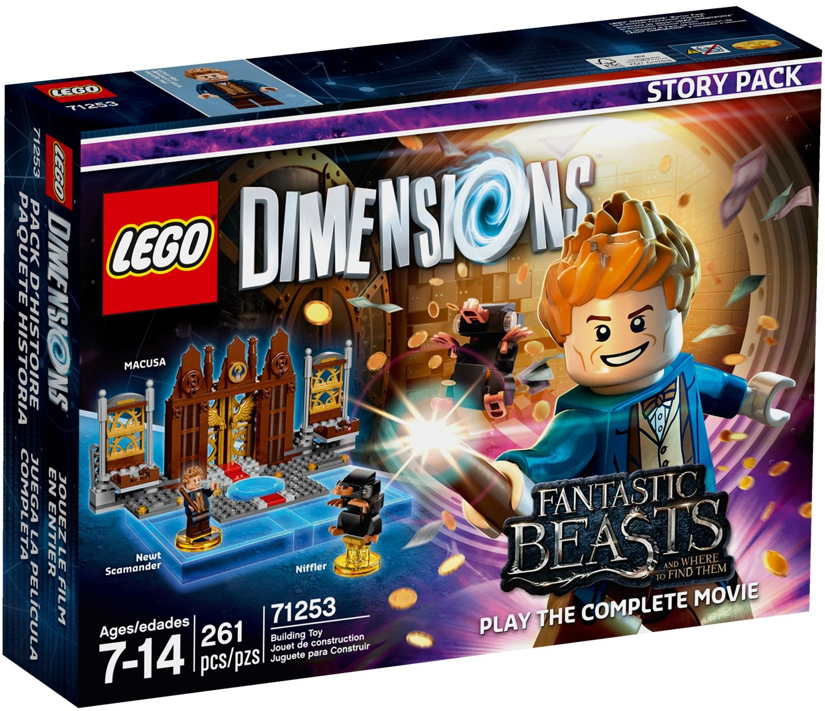 71253 Fantastic Beasts and Where to Find Them Story Pack