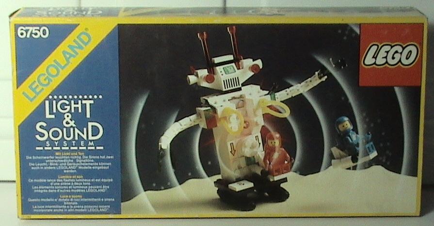 6750 Sonic Robot