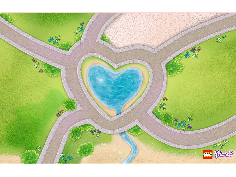 850596 Tapis de jeu Heartlake City Friends