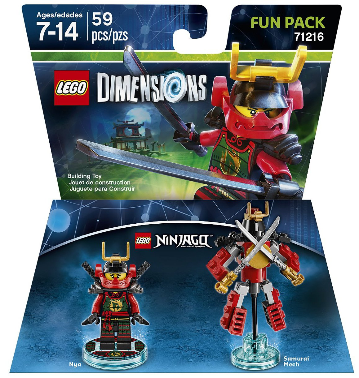71216 Ninjago Nya Fun Pack