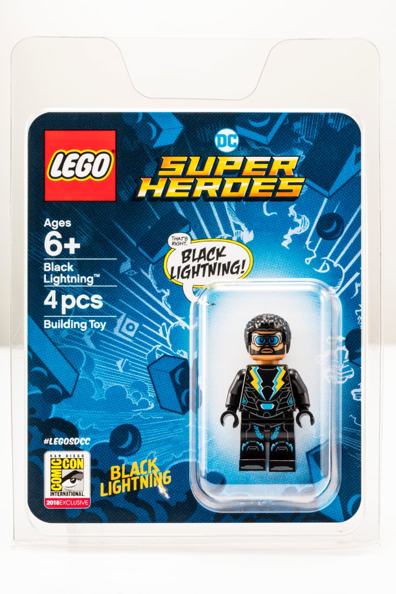 Comic-Con Exclusive Black Lightning Giveaway