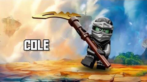 Cole - LEGO Ninjago - Character Spot