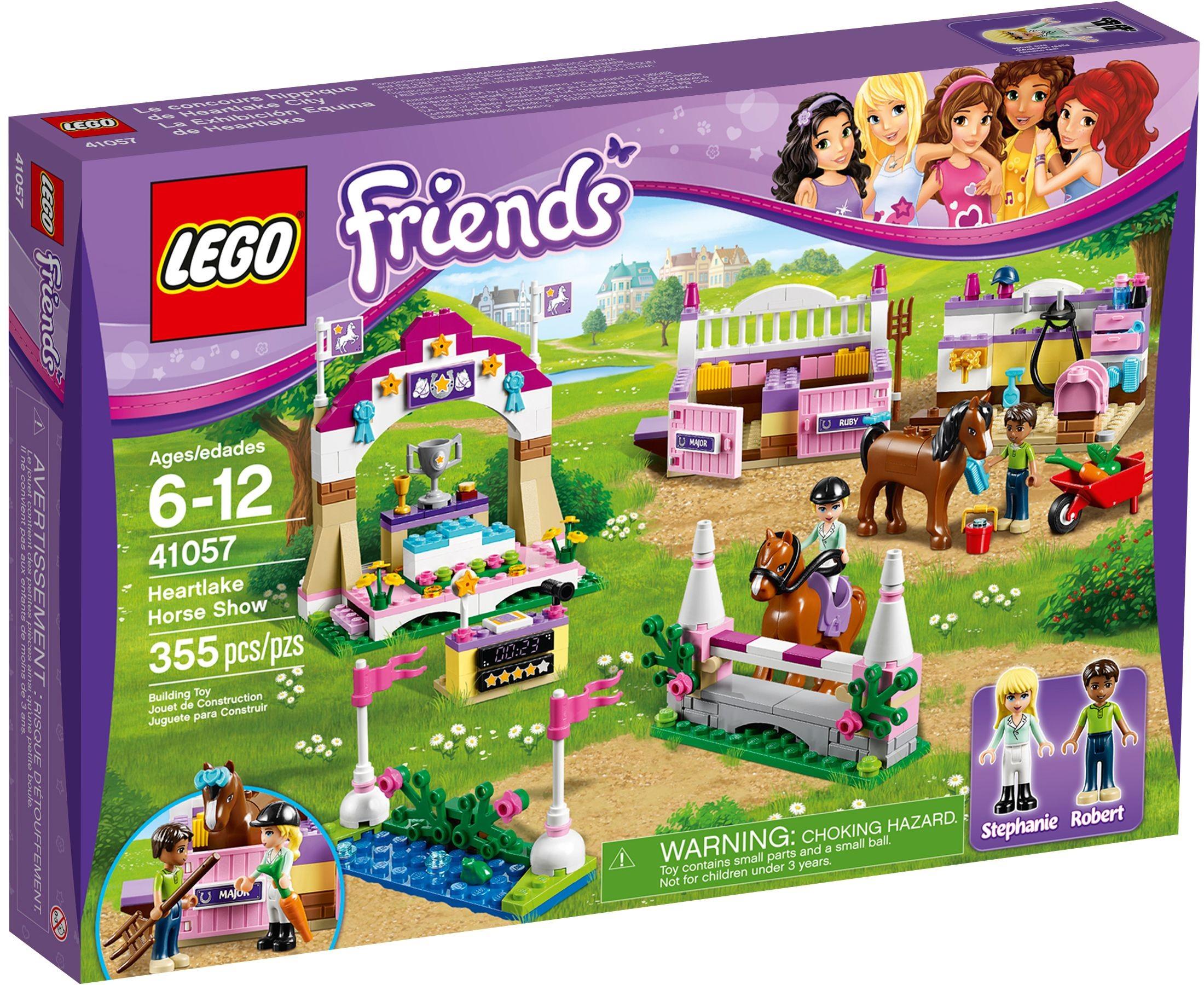 LEGO Friends Figur Minifig Junge Bub Boy Mann Pferde Horse Show 41057 Robert