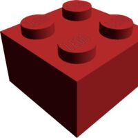 15 NEW LEGO Brick 1 x 6 BRICKS Red