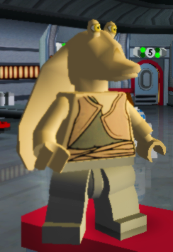 LEGO Star Wars Personaggio JARJAR BINKS