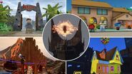 TOP 15 Movie Locations In Lego Videogames!
