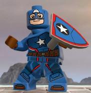 Captain America (Secret Empire) (Earth-13122) from LEGO Marvel Super Heroes 2