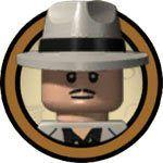 Hombre con Sombrero Panamá