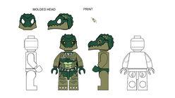 Croc AnimalDesignsCrullerFullMoldOpenEyes