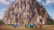 Lion Temple in Nexo Knights
