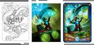 Shadowind card design
