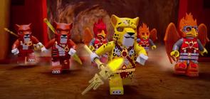Fire Warriors Running