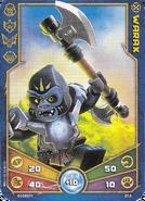 Warax Weapon card