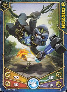 Gorzan Character card