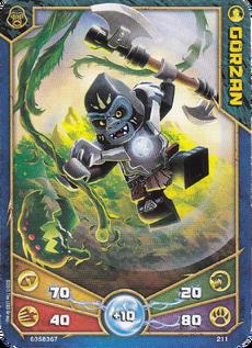 Outlands Gorzan Character card