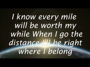 Go The Distance - Michael Bolton (Lyrics) HD