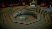 Sacred Pool of CHI empty Chima Falls
