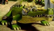 Crocodile Legend Beast in armor
