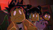 Pigsy takes MK's Team to Sandy (3)