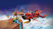 80019 Red Son's Inferno Jet box art