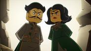 Mei's parents